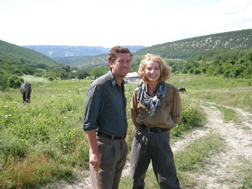 "Joanna Moro i Andriej Mierzlikin w ""Taliance"" /Facebook /internet"
