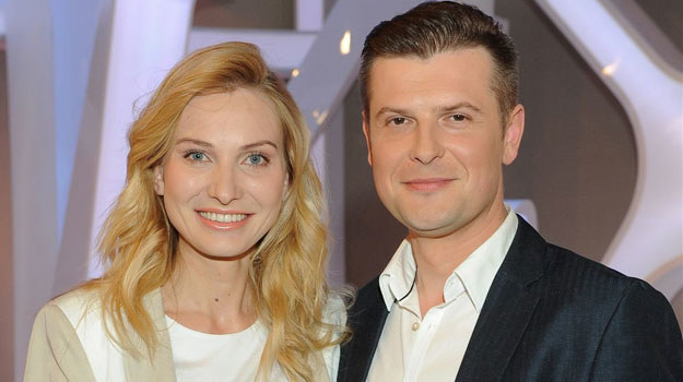 """Joanna Moro i Szymon Sędrowski, czyli Anna German i Zbigniew Tucholski z serialu """"Anna German"""" /Agencja W. Impact"""