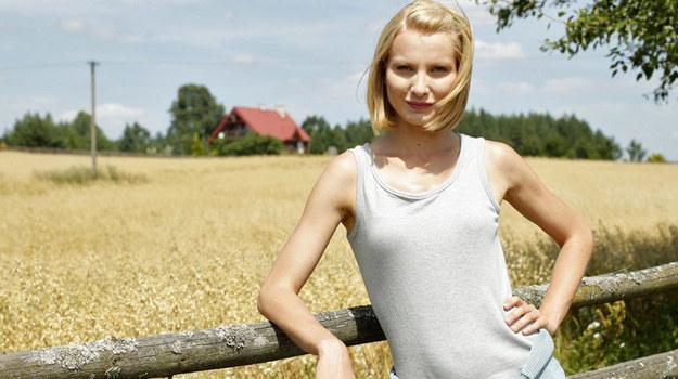 """Joanna Moro w serialu """"Blondynka"""" /Podlewski /AKPA"""