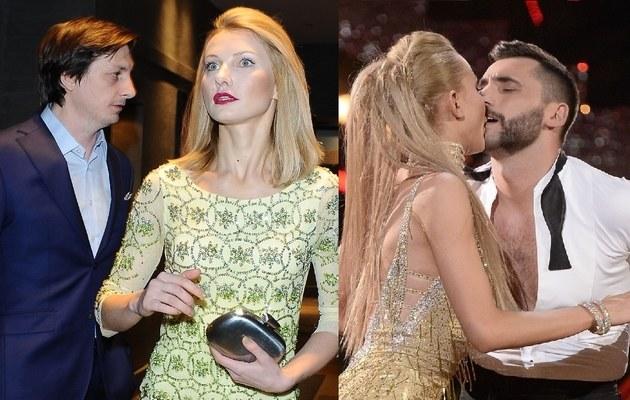 Joanna Moro z mężem i Maserakiem /- /East News