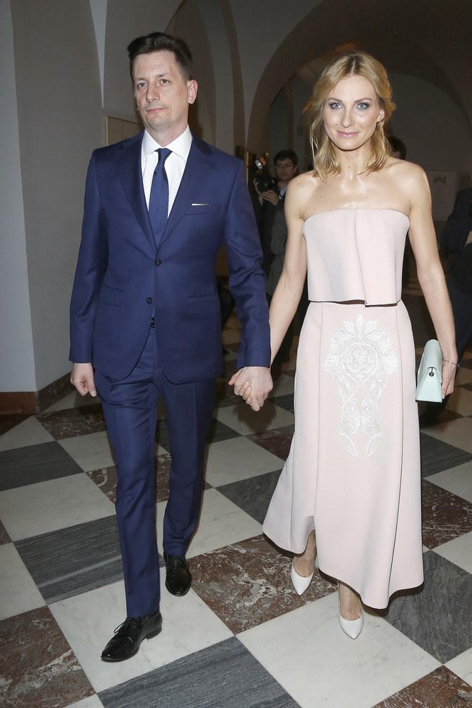 Joanna Moro z mężem /AKPA