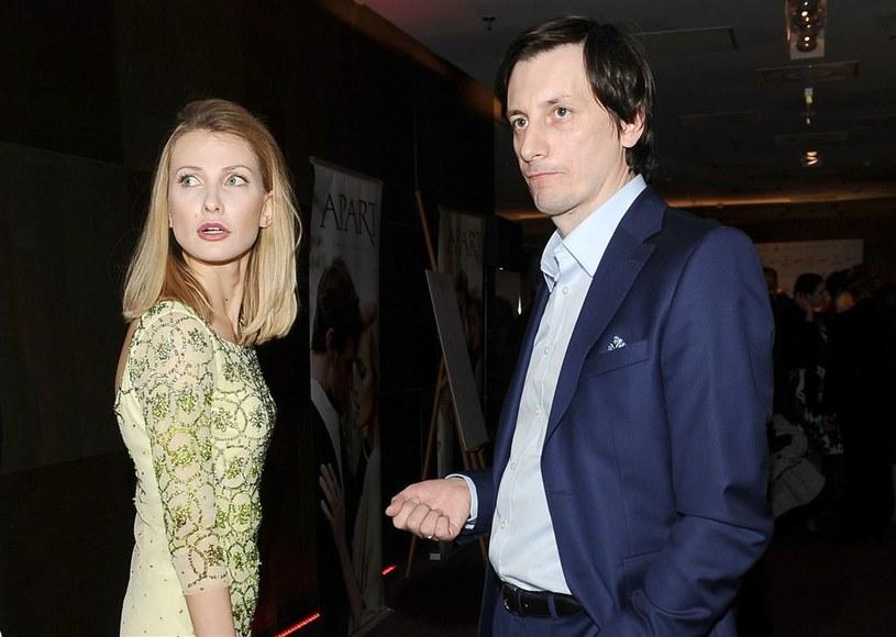 Joanna Moro z mężem /Agencja W. Impact