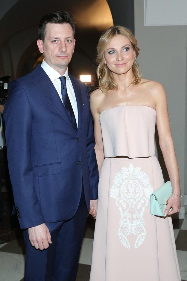 Joanna Moro z mężem /Paweł Wrzecion /MWMedia