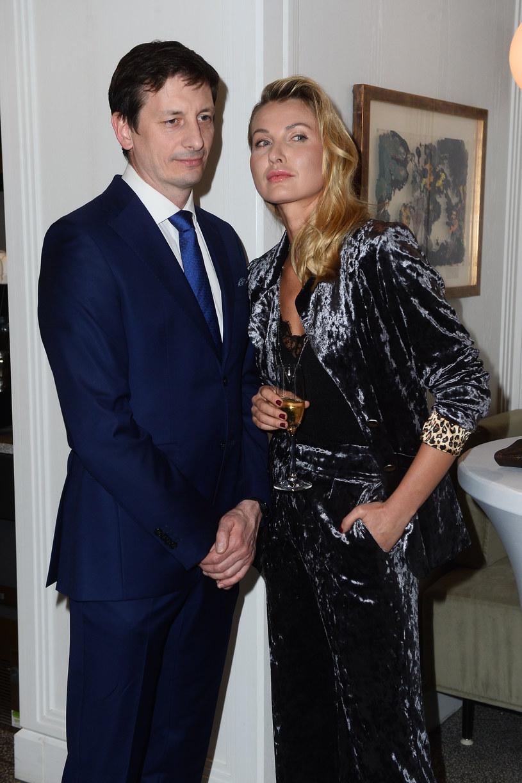 Joanna Moro z mężem /Jarosław Antoniak /MWMedia