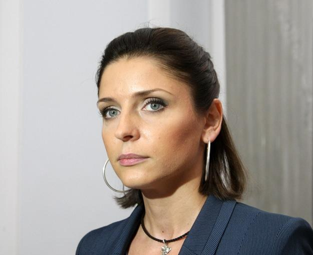 Joanna Mucha, ministra sportu. Fot. STANISŁAW KOWALCZUK /INTERIA.PL