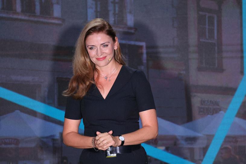 Joanna Mucha na kongresie Ruchu Polska 2050 /Jacek Domiński /Reporter