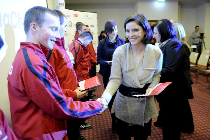 Joanna Mucha nie sprawdziła się w roli ministra sportu /Mieszko Pietka /AKPA