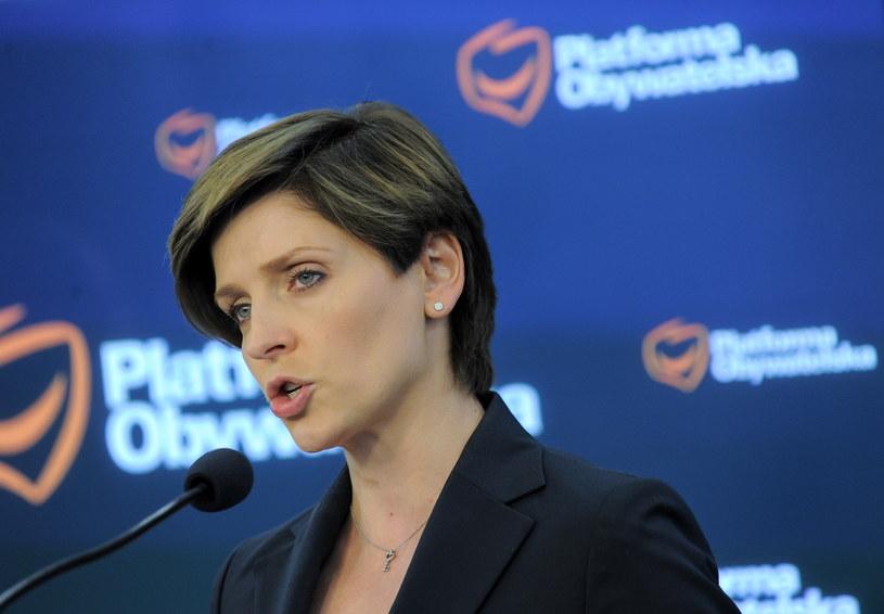 Joanna Mucha: PiS nie ma środków na realizację swoich obietnic /Marcin Obara /PAP