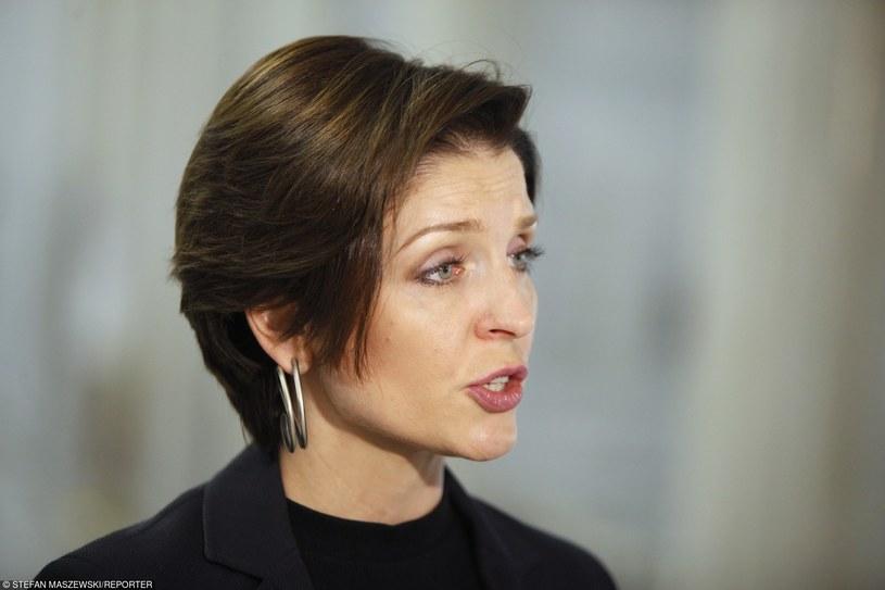 Joanna Mucha, posłanka PO /Stefan Maszewski /Reporter