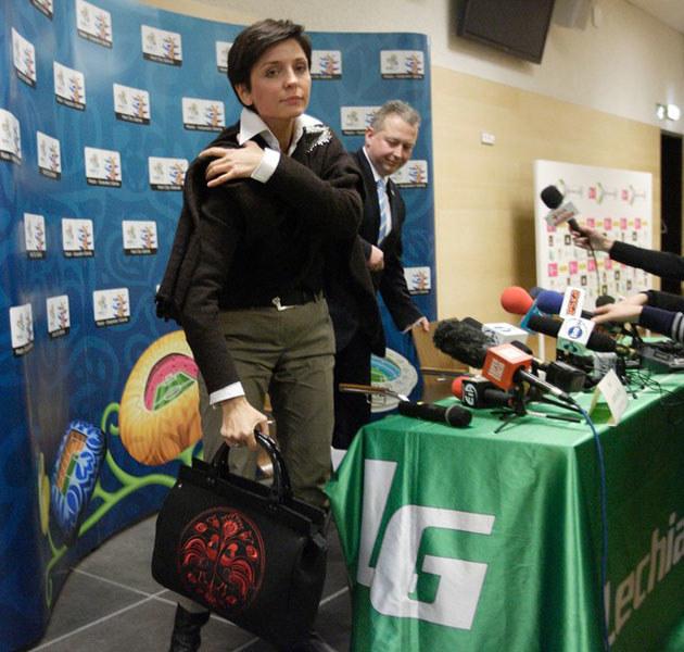 Joanna Mucha twierdzi, że Wieczorek jest najlepszy kandydatem na stanowisko wicedyrektora. /Michał Fludra /East News