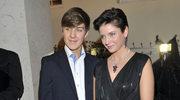 Joanna Mucha z synem