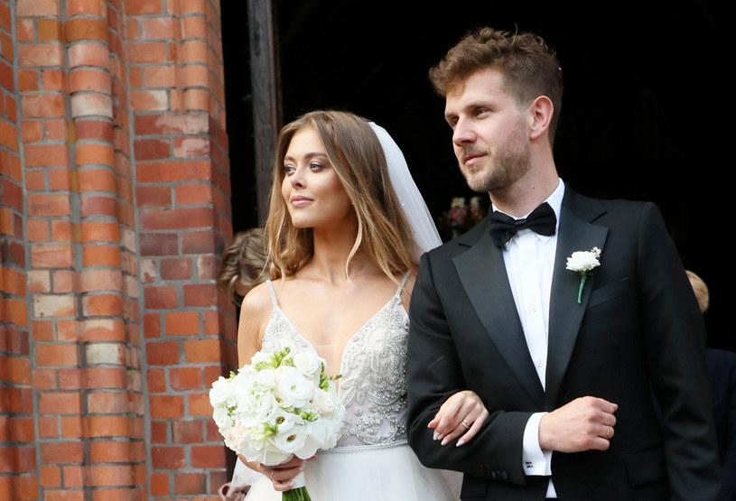 Joanna Opozda i Antoni Królikowski są już małżeństwem /Piotr Molecki /East News