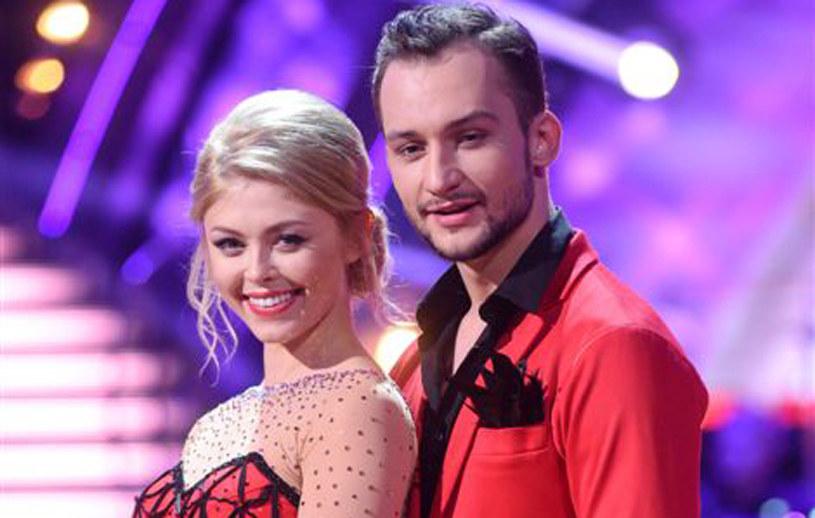 """Joanna Opozda, Kamil Kuroczko w """"Dancing With the Stars. Taniec z gwiazdami"""". /Agencja W. Impact"""