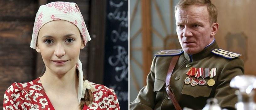 Joanna Osyda, Eryk Lubos /Monika Zielska/ TVP /AKPA