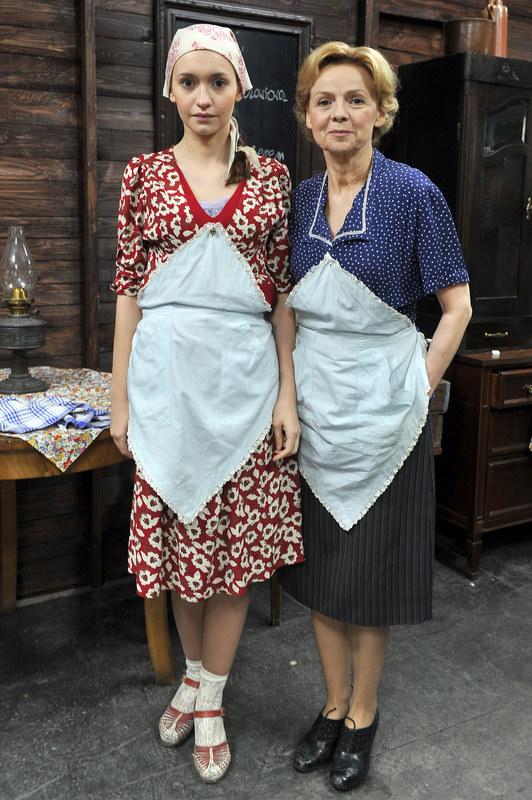 Joanna Osyda i Ewa Wencel /Jacek Kurnikowski /AKPA