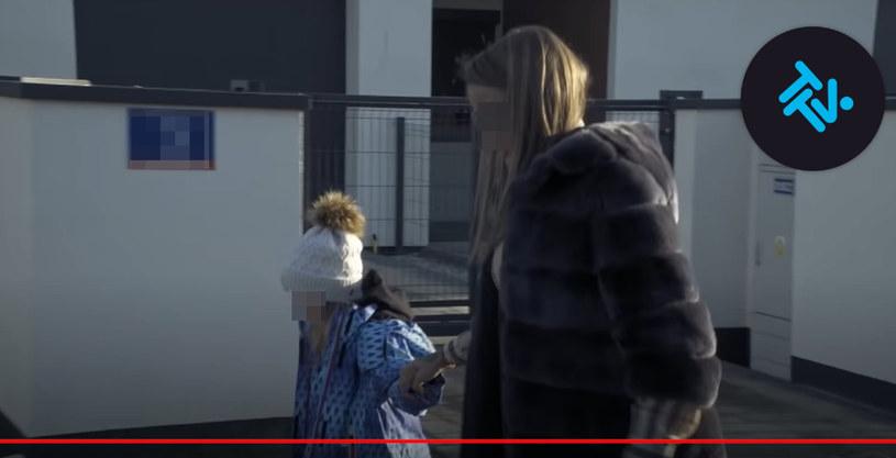 """Joanna P. razem z córką w """"Królowych życia"""" /TTV /materiał zewnętrzny"""