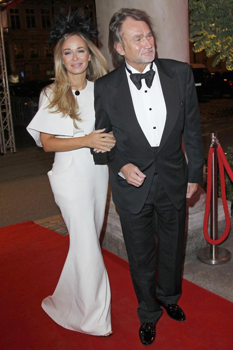 Joanna Przetakiewicz i Jan Kulczyk /- /AKPA
