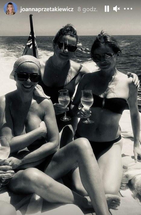 Joanna Przetakiewicz pokazała się topless! /Screen z www.instagram.com/joannaprzetakiewicz /Instagram