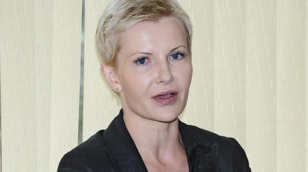 Joanna Racewicz stara się zająć pracą, żeby nie myśleć o tragedii, jaka ją spotkała/fot. A. Szilagyi /MWMedia