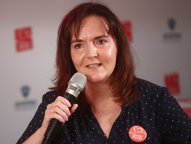Joanna Sadzik gościem Popołudniowej rozmowy w RMF FM /Łukasz Gągulski /PAP