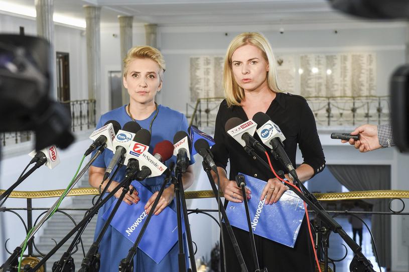Joanna Scheuring-Wielgus i Joanna Schmidt odeszły z Nowoczesnej /Jacek Dominski/ /Reporter