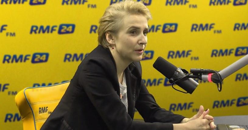 Joanna Scheuring-Wielgus w RMF FM /RMF FM