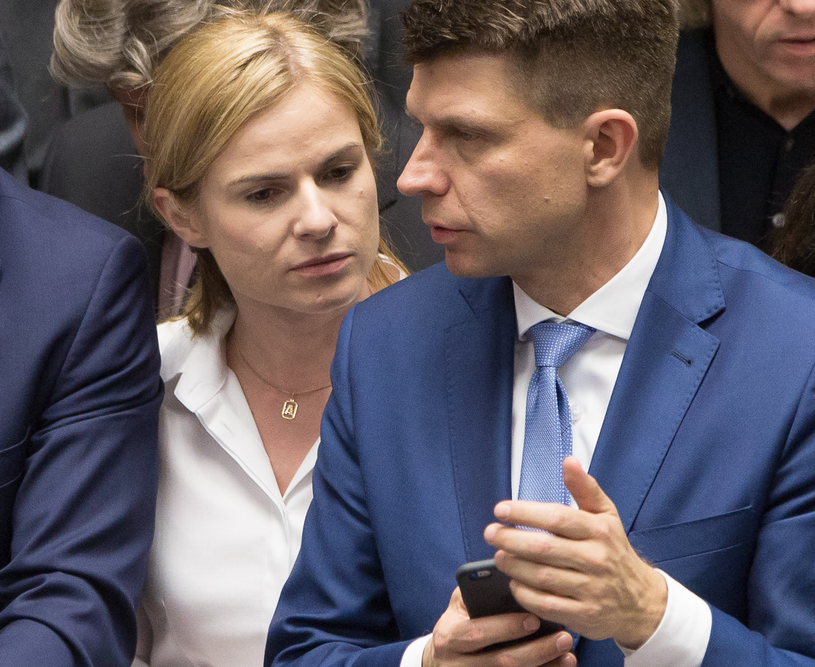 Joanna Schmidt i Ryszard Petru /Mateusz Włodarczyk /Agencja FORUM
