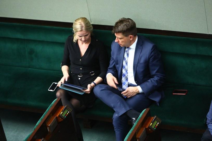 Joanna Schmidt i Ryszard Petru /Stanisław Kowalczuk /East News