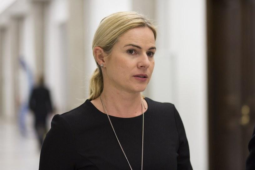 Joanna Schmidt: Nie ma rozmów o wspólnym klubie z Nowoczesną /Andrzej Hulimka  /Reporter