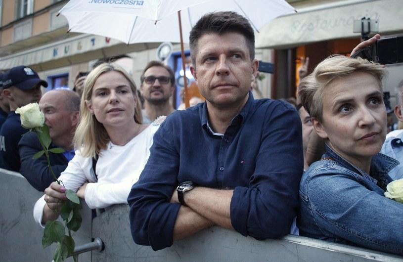 Joanna Schmidt, Ryszard Petru i Joanna Scheuring-Wielgus - troje posłów, którzy opuścili Nowoczesną /Stefan Maszewski /Reporter