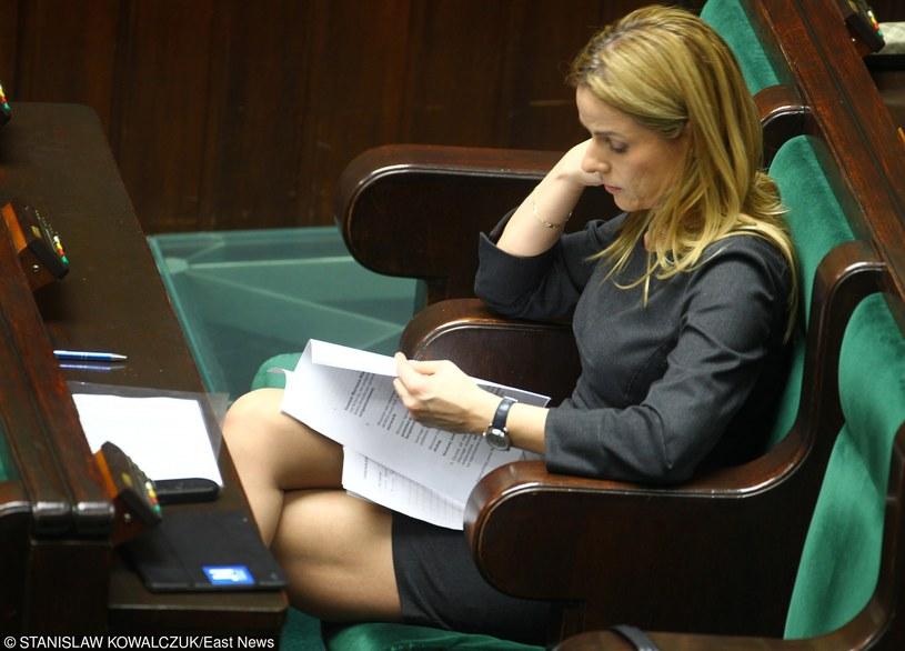 Joanna Schmidt w Sejmie /Stanisław Kowalczuk /East News