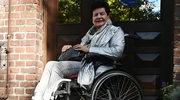 Joanna Senyszyn na wózku inwalidzkim. Nie jest za wesoło...