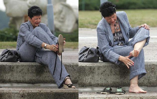 Joanna Senyszyn stroni od butów na wysokich obsacach, fot.Piotr Grzybowski