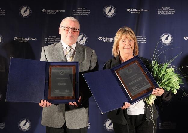 Joanna Solska laureatką nagrody. Leszek Będkowski dostał nagrodę specjalną/fot. P. Supernak /PAP