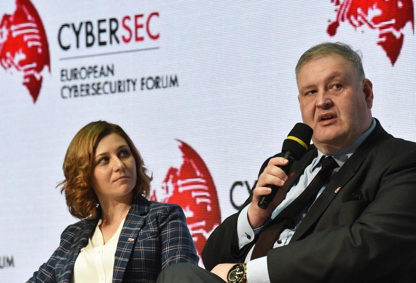 Joanna Świątkowska i Bogdan Święczkowski /Jacek Bednarczyk /PAP