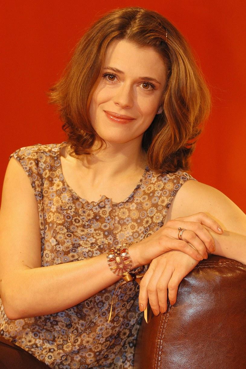 Joanna Sydor w 2004 roku, fot. Norbert Urbaniak /Agencja FORUM