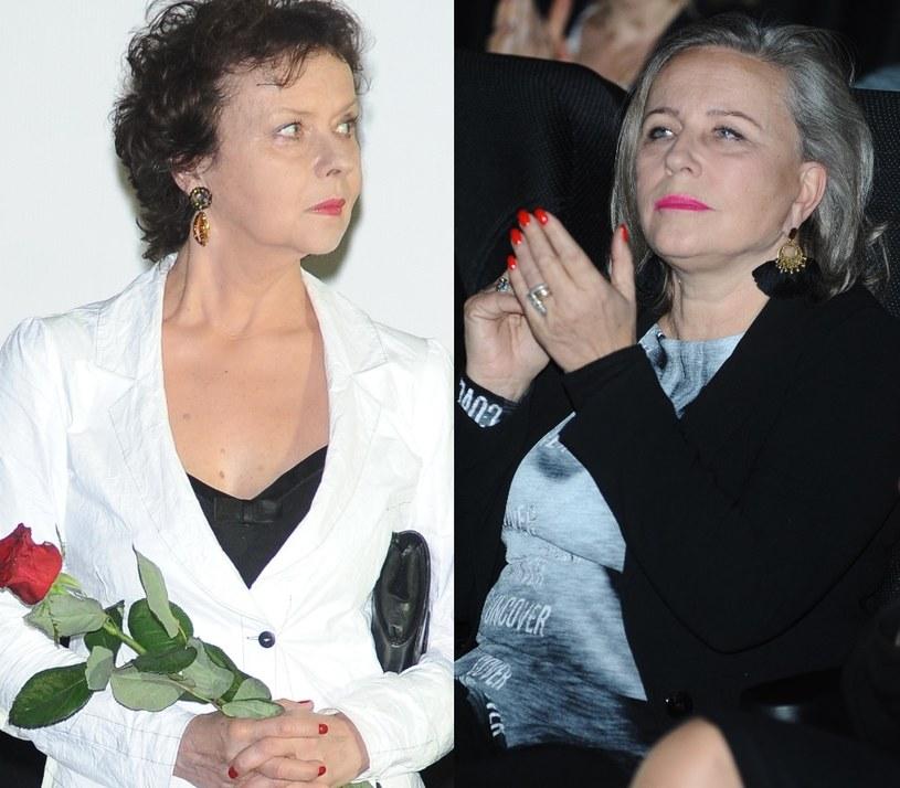 Joanna Szczepkowska i Krystyna Janda /- /MWMedia