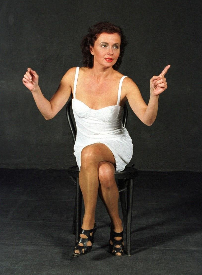 """Joanna Szczepkowska wystawia """"Gołą babę"""" od 1997 roku! /Czesław Czapliński/FOTONOVA /East News"""