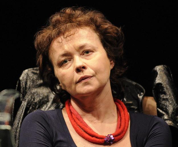 Joanna Szczepkowska / Andrzej Rybczyński    /PAP