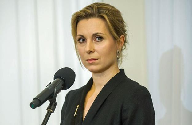 Joanna Trzaska-Wieczorek, dyrektor biura prasowego kancelarii prezydenta. Fot. Jacek Domiński /Reporter
