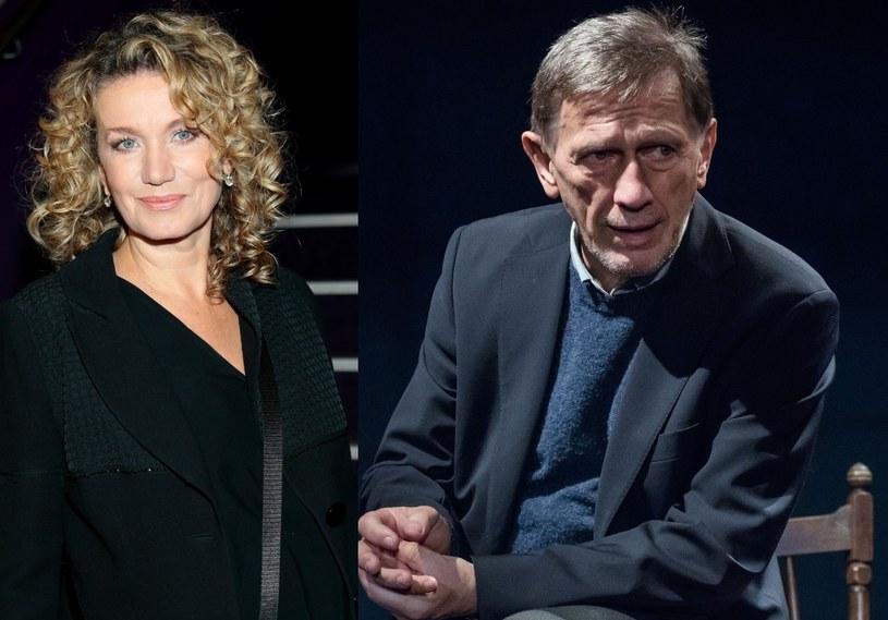 Joanna Trzepiecińska i Jan Englert /- /East News