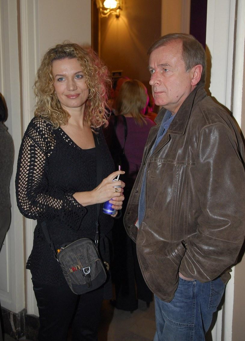 Joanna Trzepiecińska i Janusz Anderman /East News