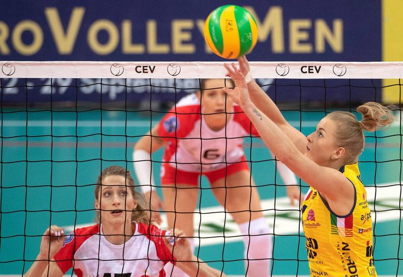 Joanna Wołosz wystawia dla Imoco Volley Conegliano /Grzegorz Michałowski /PAP