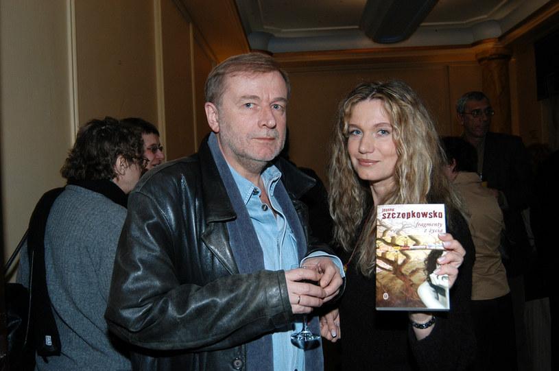 Joanna z byłym mężem /- /MWMedia