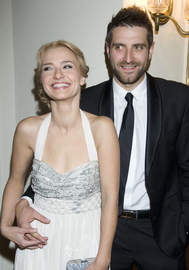 Joanna z partnerem Maćkiem Dowborem, fot.Jarosław Antoniak  /MWMedia
