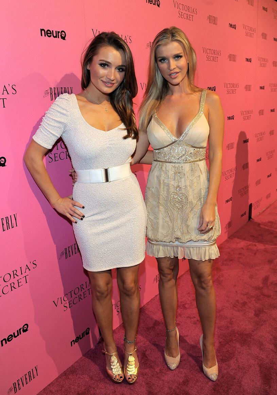 Joanna ze swoją siostrą /Getty Images