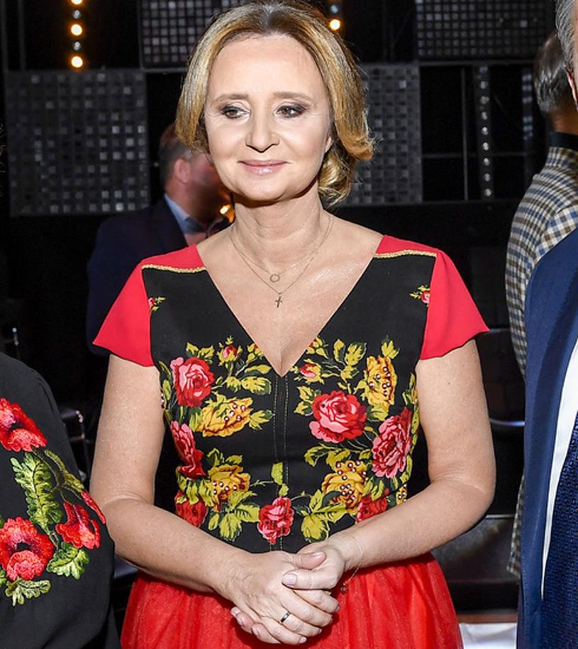 Joanna, żona Jacka Kurskiego /Piętka Mieszko /AKPA