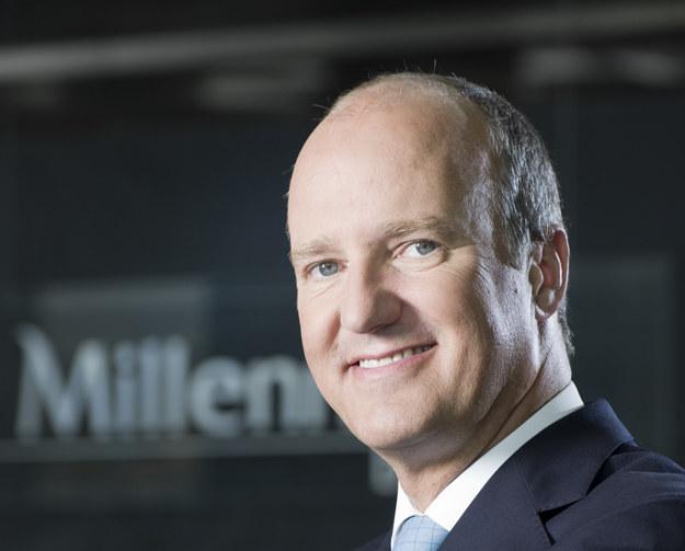 Joao Bras Jorge, prezes Banku Millennium /Informacja prasowa
