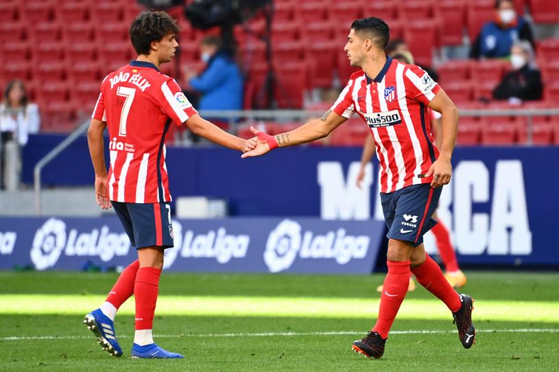 Joao Felix (z lewej) i Luiz Suarez /GABRIEL BOUYS /AFP