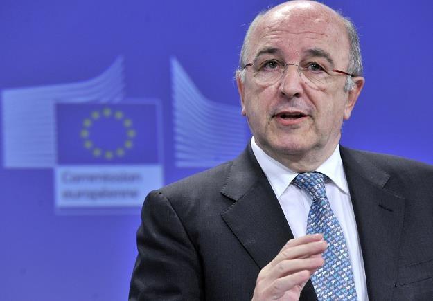 Joaquin Almunia, komisarz UE ds. konkurencji /AFP